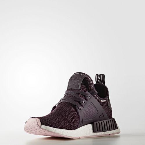 Achetez élégant adidas nmd pourpre pas cher Violet Baskets