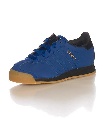 Achetez élégant adidas samoa suede pas cher Violet Baskets