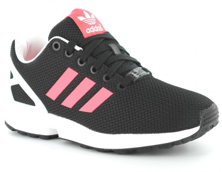 adidas zx flux pas cher rose fluo
