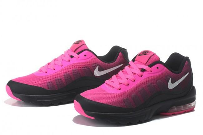 69ce3b2fa7ebf Achetez élégant air max rose et noir femme pas cher Violet Baskets ...