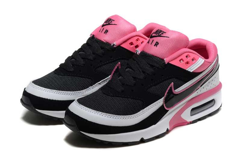 basket air max femme rose et noir